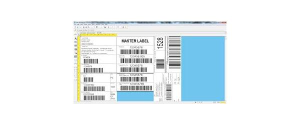 Screenshot label design software